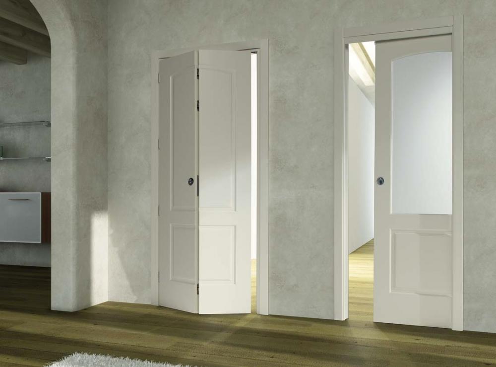 Porte a libro monza di fazio porte e finestre for Immagini porte interne