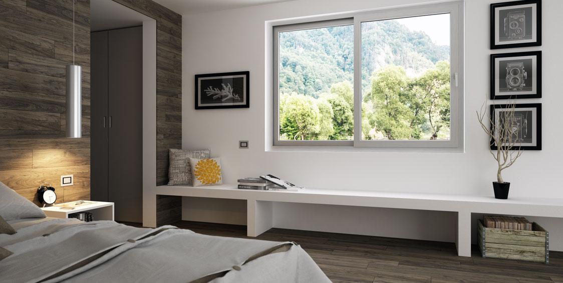 Scorrevoli paralleli di fazio porte e finestre - Finestre scorrevoli dimensioni ...